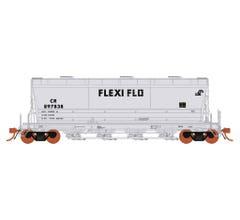 Rapido #133006 ACF Flexi Flo: CR ACF Flexi Flo Repaint (963H) (6 pcs)