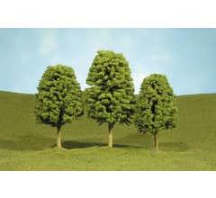 """Bachmann #32106 2"""" - 3"""" Deciduous Trees four pieces per pack"""