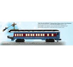 Lionel #6-85400 Polar Express Skiing Hobo Observation Car