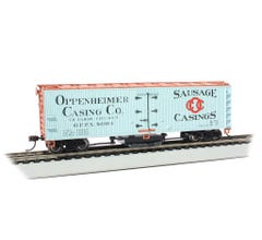 Bachmann #16335 Track Cleaning Woodside Reefer - Openheimer Casing Co