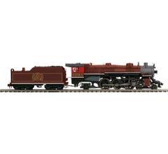 MTH #20-3817-1 4-6-2 USRA Heavy Pacific Steam Engine w/Proto-Sound 3.0 - Chicago & Alton Cab # 656