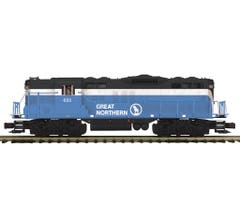 MTH #20-21518-1 GP-9 Diesel Engine With Proto-Sound 3.0 - Great Northern Cab No. 695