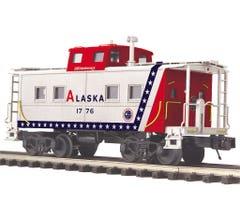 MTH #20-91663 Steel Caboose - Center Cupola Alaska