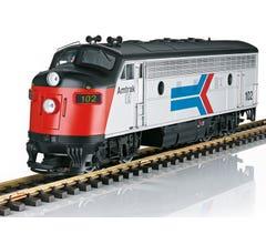 LGB #21580 Amtrak Diesel Locomotive F7 A Phase I w/Sound