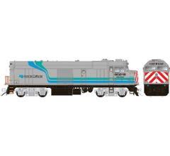 "Rapido #81512 Amtrak ""Cabbage"" NPCU DC/DCC/Sound – Amtrak California Scheme #90218"
