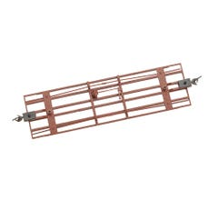 Bachmann #29907 Freight Car Underframe Oxide Red (3 Pieces)