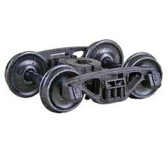 """Kadee #566 Self-Centering Barber® S-2-B Truck with 33"""" smooth back wheels"""