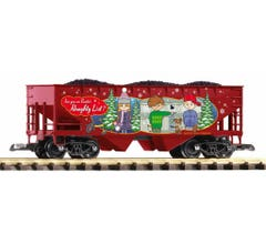 PIKO #38899 Naughty List Lump Coal Hopper Car