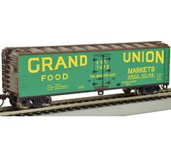 Bachmann #19806 Grand Union - 40' Wood-side Reefer