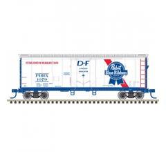 Atlas #50005648 40' PLUG DOOR BOX CAR PABST BLUE RIBBON #1079