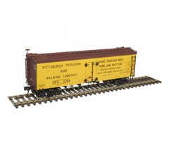 Atlas #20005811 36' Wood Reefer - Pittsburgh Provision & Packing #1244