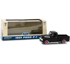 GreenLight #86315 1951 FORD F-1 Raven Black 143 Scale