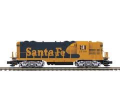 MTH #20-21412-1 Santa Fe GP-7 Switcher Diesel Engine w/Proto-Sound 3.0 (Hi-Rail Wheels)