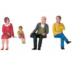 LGB #53011 Set of Nostalgic Figures - Seated