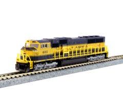 Kato #176-6409 EMD SD70MAC Alaska Railroad #4011