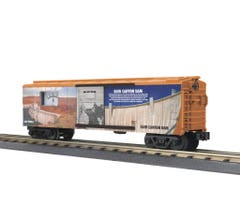 MTH #30-71024 Box Car with Power Meter - Glen Canyon Dam
