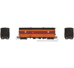 Rapido #107329 Steam Heater Car: Milwaukee Road - 1950 Scheme