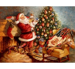 Lionel #9-33057 Santa's Finishing Touch Welcome Mat