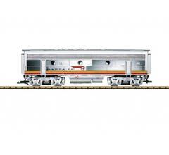 LGB #20582 Santa Fe EMD F7 B Unit Diesel Locomotive