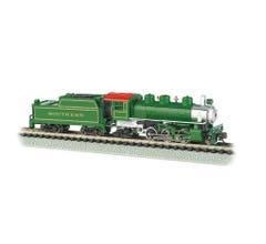 Bachmann #51572 Prairie 2-6-2 & Tender - Southern Railway (green)