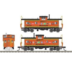 Atlas #TWTL01 Extended Vision Caboose-BNSF 25th Anniversary #92295- Trainworld Exclusive