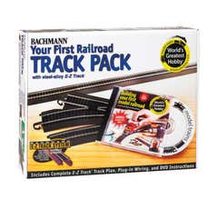 Bachmann #44497 HO Your First Railroad Track Pack(Steel)