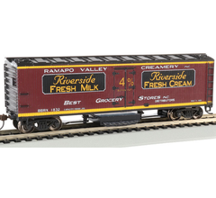 Bachmann #16333 Track Cleaning Woodside Reefer - Ramapo Valley Creamery