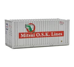 Walthers #949-8014 20' Container w/Flat Panel - Mitsui OSK Lines