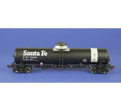 American Limited Models #1836 GATC Tank Car ATSF #101149 Gray band diesel fuel service with 1970s Santa Fe logo lettering
