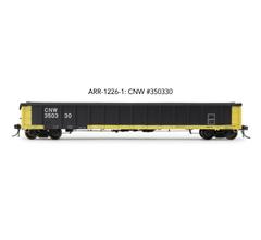 "Arrowhead Models HO ARR-1226-1 CNW #350330 Greenville 2494 ""Railgon"" Gondola"