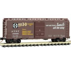 Micro Trains #02000187 ATSF - Impact Box Car #10000