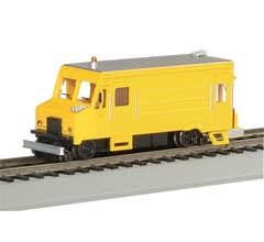 Bachmann #46204 Rail Detector Step Van w/Highrailers