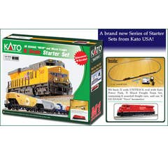 """Kato #106-0022 GE ES44AC 'Gevo"""" & Mixed Freight Starter Set - Canadian Pacific"""