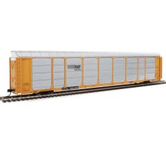 Walthers #920-101425 89' Thrall Enclosed Tri-Level Auto Carrier - Norfolk Southern Rack ETTX Flat #33488/700392