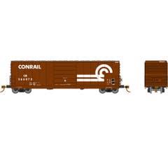 Rapido #139006A Evans X72 Box car: Conrail Large Logo