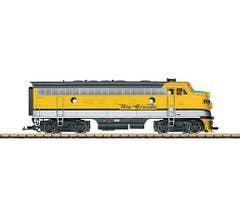 LGB #20578 DRGW F7A Diesel Locomotive w/Sound