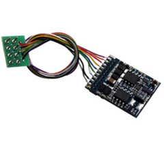 ESU #54611 LokPilot V4.0 DCC decoder with 8-pin plug according to NEM 652