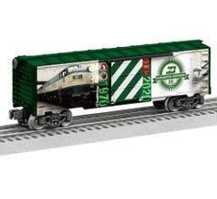 Lionel #2038040 Burlington Northern 50th MUSA Boxcar