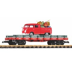 PIKO #38776 Christmas Package Transport w/Diecast VW Kombi