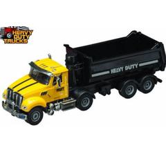 Daron #GW9160 Heavy Duty Dump Truck Yellow 1/50