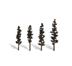 """Woodland Scenics #TR3561 Classic Trees- Standing Timber - 4""""- 6"""""""