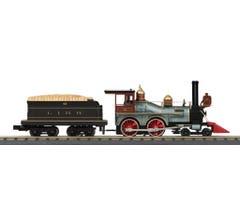 MTH 30-1716-1 Long Island 4-4-0 General Steam Engine w/Proto-Sound 3.0
