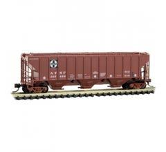 Micro Trains #09600212 3-Bay Covered Hopper - ATSF # 307889
