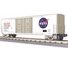 MTH #30-71079 50' Double Door Plugged Boxcar - NASA