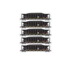 Athearn #98477 5-Bay Rapid Discharge Hopper IPSX #1 (5)