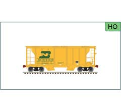 Atlas #20006595 ACF PS-2 Covered Hopper BN Scale Monitor Car #979039