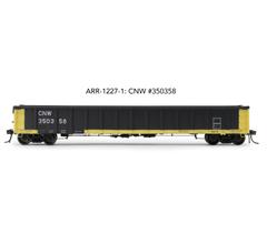 "Arrowhead Models HO ARR-1227-1 CNW #350358 Greenville 2494 ""Railgon"" Gondola"