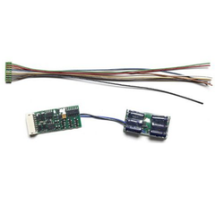 NCE #5240146 Small w/Attached D13SRJ Decoder D13NHJ
