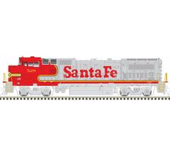 Atlas #10003099 DASH 8-40BW w/DC/DCC/Sound - Santa Fe #542
