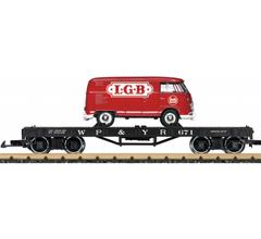LGB #40597 WP&Y RR Flat Car Era III